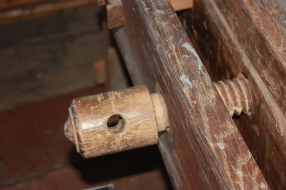 Wood Vise Screw - Face Vise - English Style Workbench