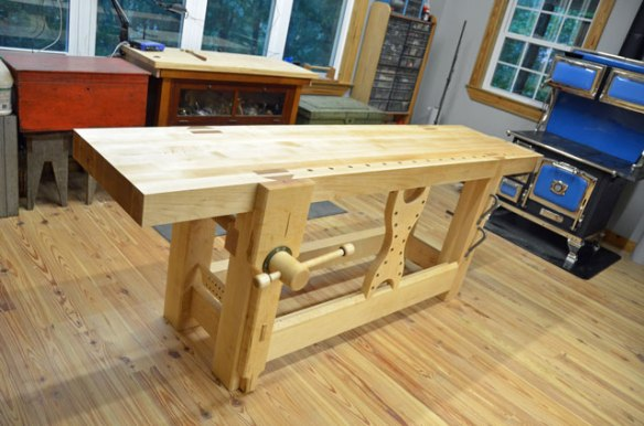 Roubo Workbench, Leg Vise