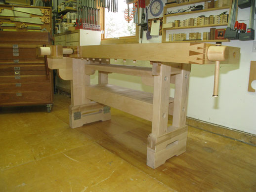 Workbnench, wood vise, wagon vise, shoulder vise