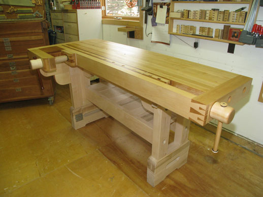 workbench, wagon vise, shoulder vise, lake erie toolworks