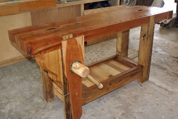Leg Vise, Roubo Bench, Lake Erie Toolworks