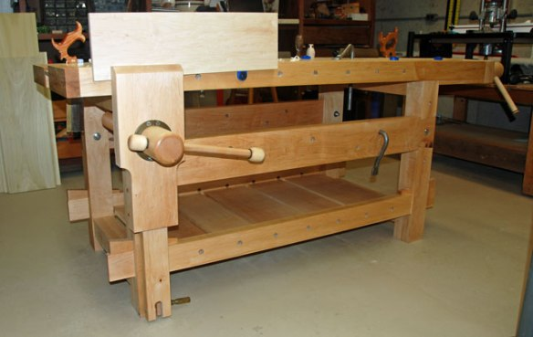Leg Vise, Wagon Vise, Split Top Workbench, Lake Erie Toolworks