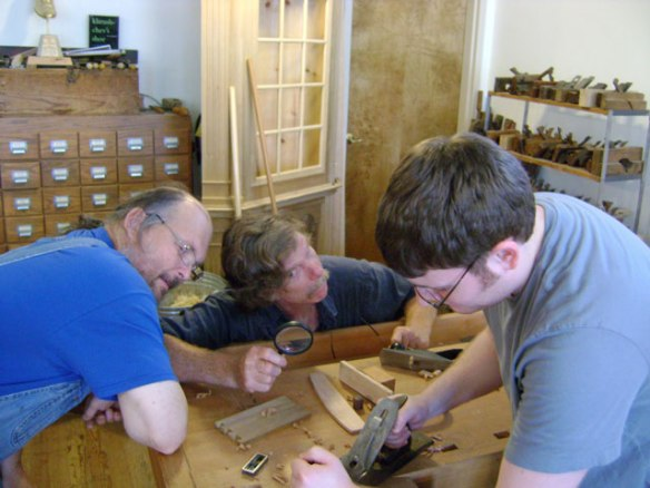 Roy Underhill, Bill Anderson, Nick Dombrowski, The Woodwright's School, Lake Erie Toolworks