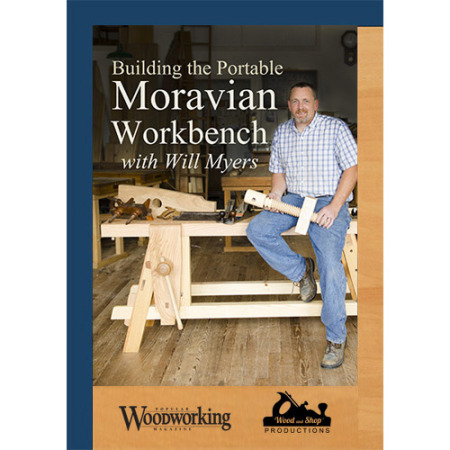 Will Myers, Moravian Workbench, Wooden Leg Vise