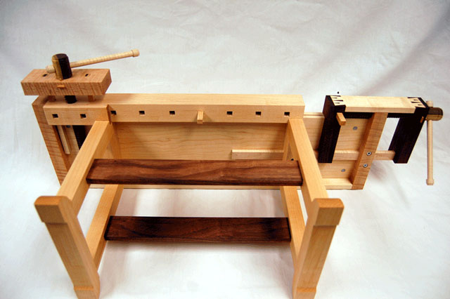Cool SYP SpiltTop Roubo Workbench 3 Mostly Finished Tail