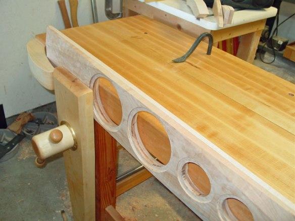 Roubo Workbench, Leg Vise, Lake Erie Toolworks