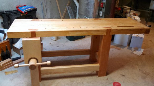 Lake Erie Toolworks, Leg Vise Workbench