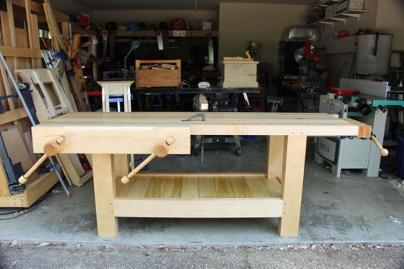 Lake Erie Toolworks, Holtzapfel Workbench, Twin Screw Wooden Vise