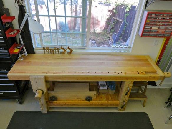 Lake Erie Toolworks, Roubo Workbench, Leg Vise, Wagon Vise, Wood Vise