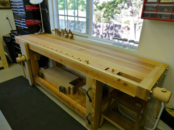 Lake Erie Toolworks, Roubo Workbench, Leg Vise, Wagon Vise, Wood Vise
