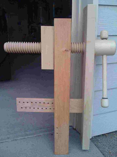 Lake Erie Toolworks, Roubo Workbench, Leg Vise, Wood Vise