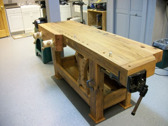 Lake Erie Toolworks, Twin Screw Vise, Holtzapffel Workbench, Wod Vise