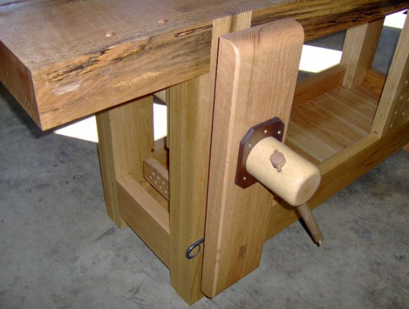 Lake Erie Toolworks, Roubo Workbench, Leg Vise, Tail Vise, Wooden Vise