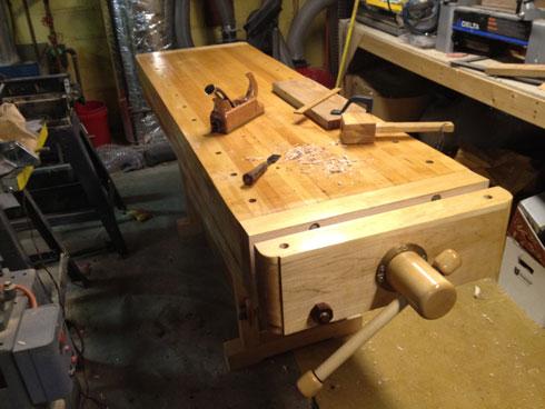 Lake Erie Toolworks, Acorn Workbench, Leg Vise, Acorn Vise, Wood vise