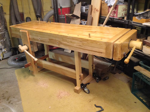 Lake Erie Toolworks, Acorn Workbench, Leg Vise, Acorn Vise, Wood vise