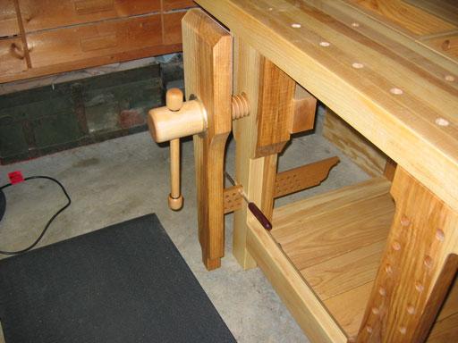 Lake Erie Toolworks, Split top Roubo Workbench, Leg Vise Wood Vise