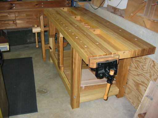 Lake Erie Toolworks, Split top Roubo Workbench, Leg Vise Wood Vise