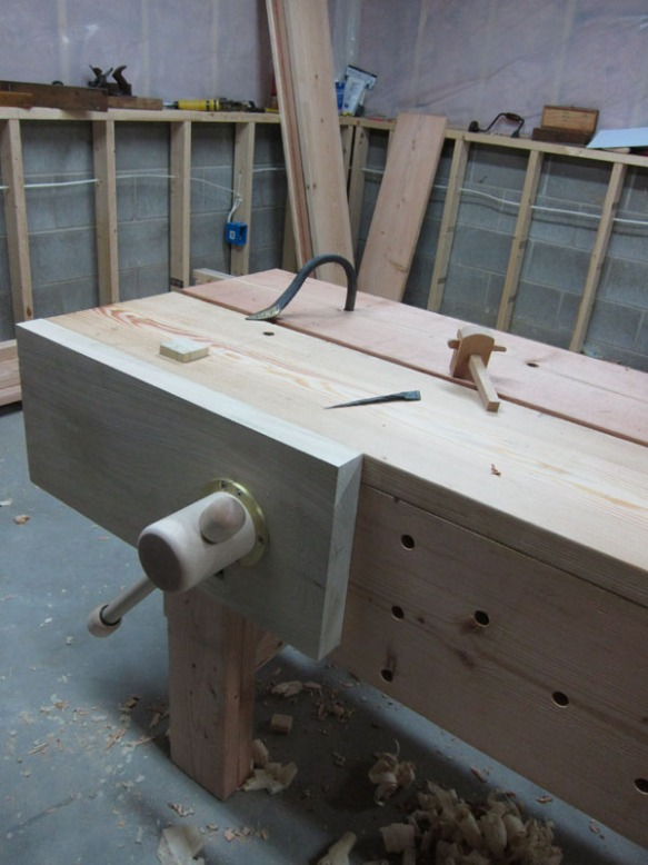 Lake Erie Toolworks, Face Vise, Nicholson Workbench, Wood Vise