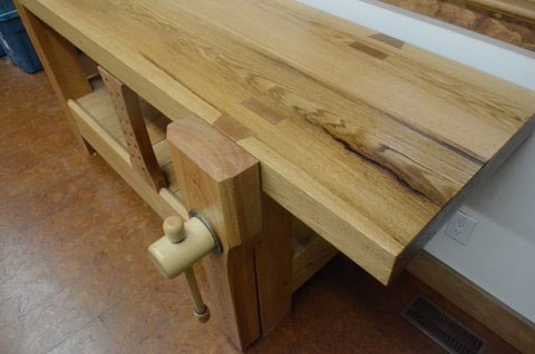 Lake Erie Toolworks, Roubo Workbench, Leg Vise, Wooden Vise
