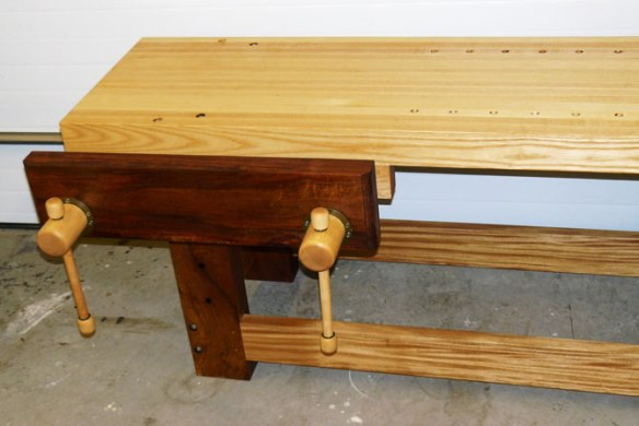 Lake Erie Toolworks, Twin Screw Vise, Holtzapfel Workbench
