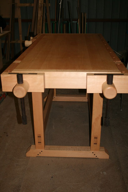 Lake Erie Toolworks, Twin Screw Vise, Tail Vise, Modified Holtzapffel Workbench, Wooden Vise