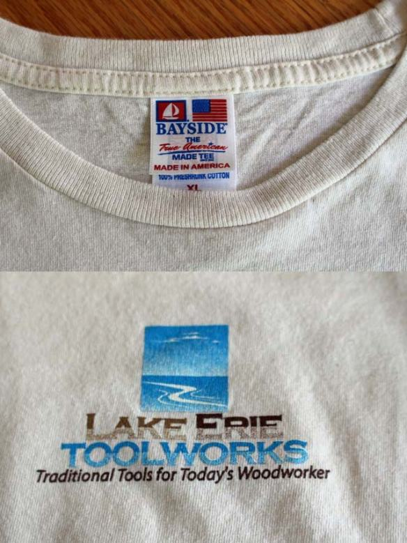 Lake Erie Tooworks T-Shirt; Made in USA