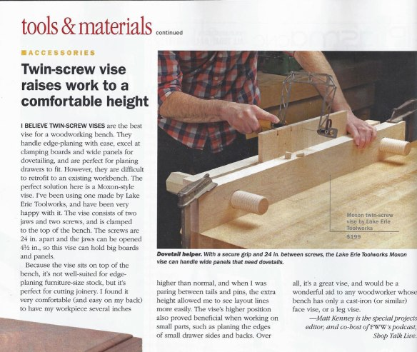 Moxon Vise Lake Erie Toolworks Blog