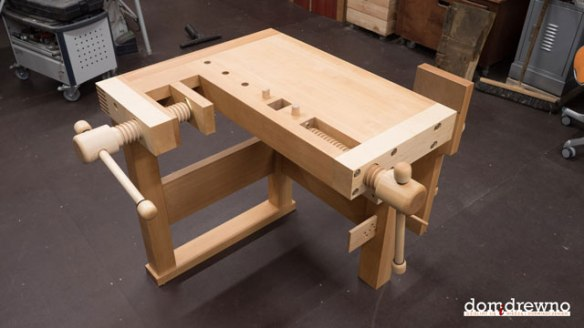 Lake Erie Toolworks, Workbench, Wooden Vise, Wood Vise, Wood Vice, Leg Vise, Wagon Vise, Shoulder Vise, Domidrewno