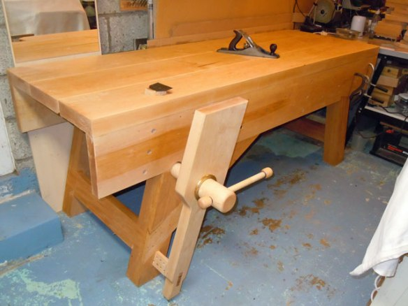 Lake Erie Toolworks, English Workbench, Wood Vise, Wood Vice, Leg Vise, Leg Vice