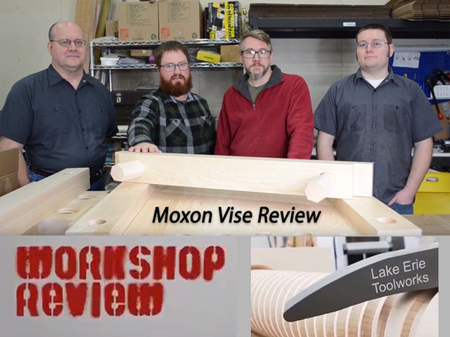 Lake Erie Toolworks, Moxon Vise, Wood Vise