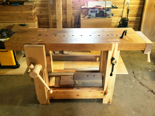 Lake Erie Toolworks, Workbench, Wooden Vise, Vise
