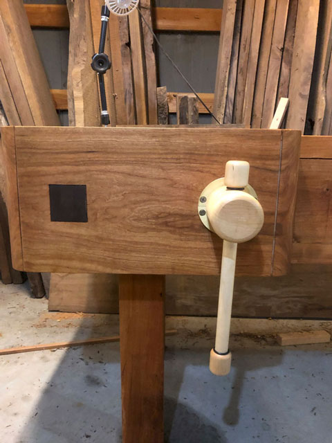 Lake Erie Toolworks, Nicholson Workbench, Wood Vise, Face Vise