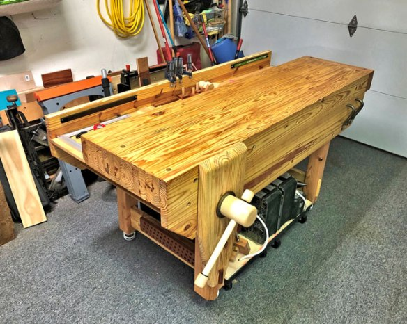 Lake Erie Toolworks, English Workbench, Nicholson Workbench, Leg Vise, Wood Vise,