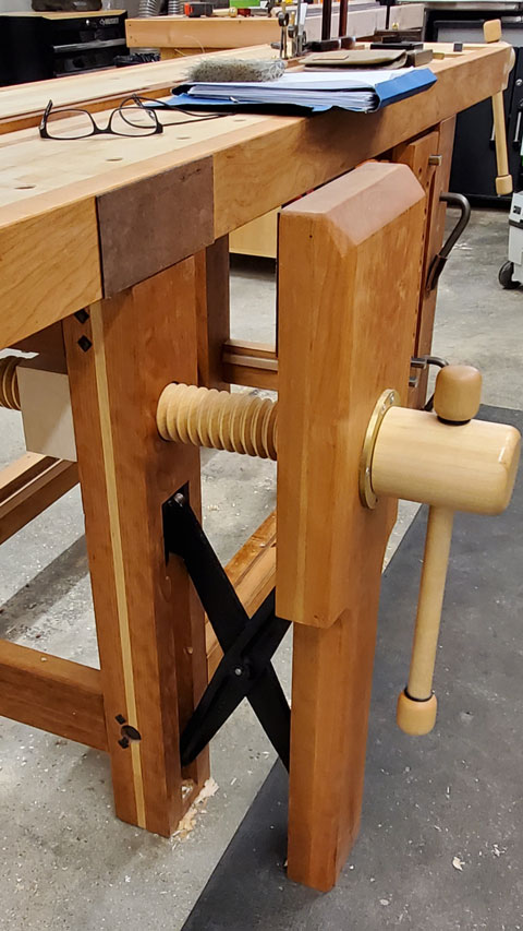Lake Erie Toolworks, Workbench, Leg Vise, Split Top Roubo, Wood Vise, Workbench Idea