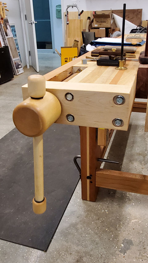 Lake Erie Toolworks, Workbench, Leg Vise, Split Top Roubo, Wood Vise, Workbench Idea