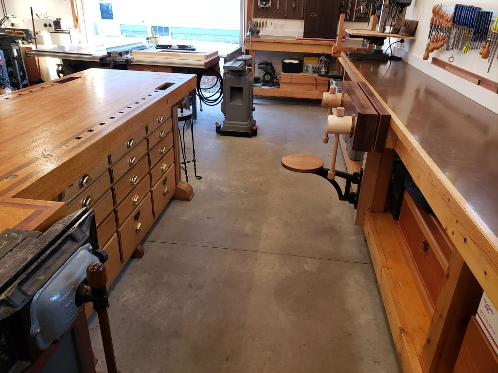 Lake Erie Toolworks, Twin Screw Vise, Wood Vise, Wooden Vise, Workbench