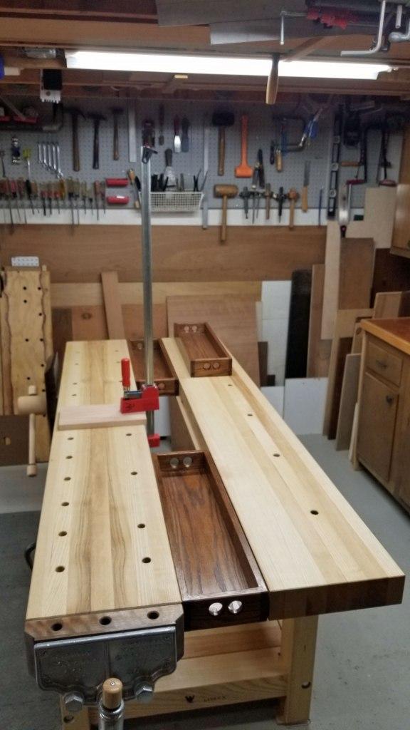 Lake Erie Toolworks, Workbench, Leg Vise, Wooden Vise, Wood Vise, 21st Century Workbench