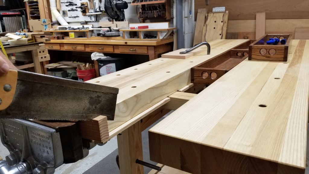 Lake Erie Toolworks, Workbench, Leg Vise, Wooden Vise, Wood Vise, 21st Century Workbench